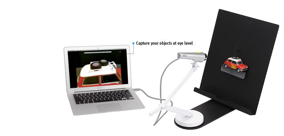 IPEVO Scan Kit for P2V and Ziggi USB Document Cameras