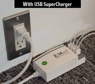 with USB SuperCharger