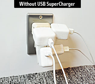 without USB SuperCharger