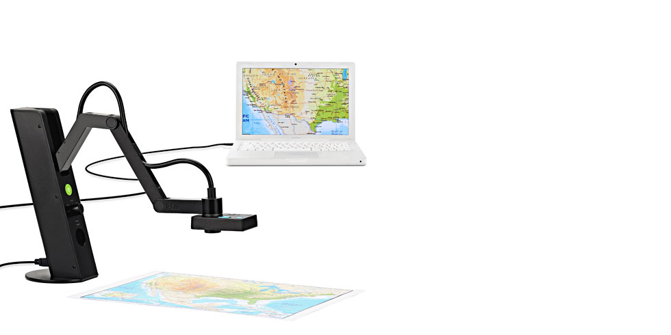 IPEVO VZ-1 HD VGA/USB Dual-Mode Document Camera