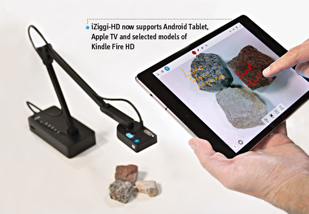 iZiggi-HD Wireless Document Camera for iPad, Android Tablet, PC and Mac