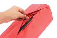 If your PadPillow Lite needs a wash, use the zipper to remove the foam inside