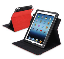 PV-01 360 Degrees Rotating Folio Case for the new iPad 3 and iPad 2