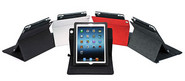 PV-01 360 Degrees Rotating Folio Case for iPad 4, iPad 3, and iPad 2