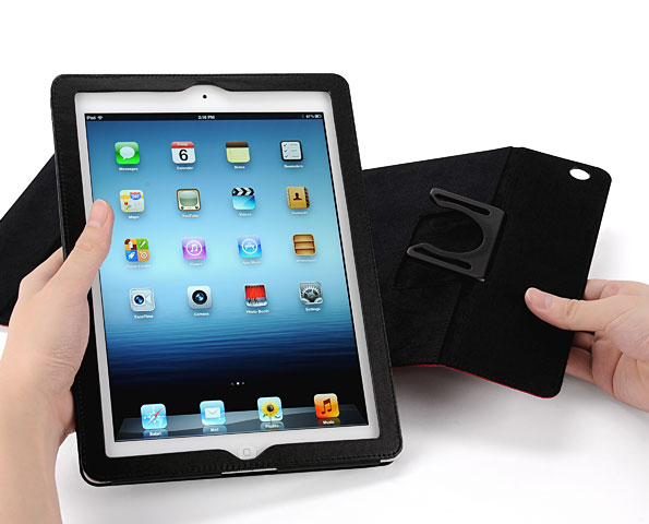 IPEVO PV-01 360 Degrees Rotating Folio Case for the new iPad 3 and iPad 2