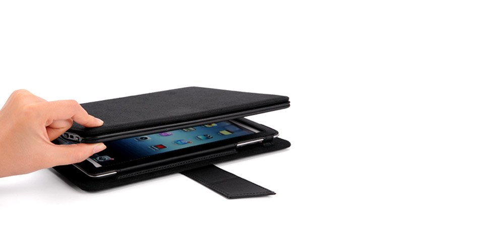 IPEVO Typi Folio Case + Wireless Keyboard for iPad 4, iPad 3 and iPad 2