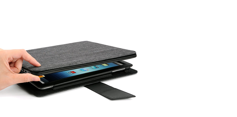 IPEVO Typi Folio Case + Wireless Keyboard for the new iPad 3 and iPad 2
