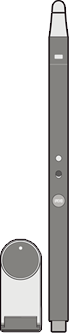 IW2 Wireless Interactive Whiteboard System (Long Pen Version)