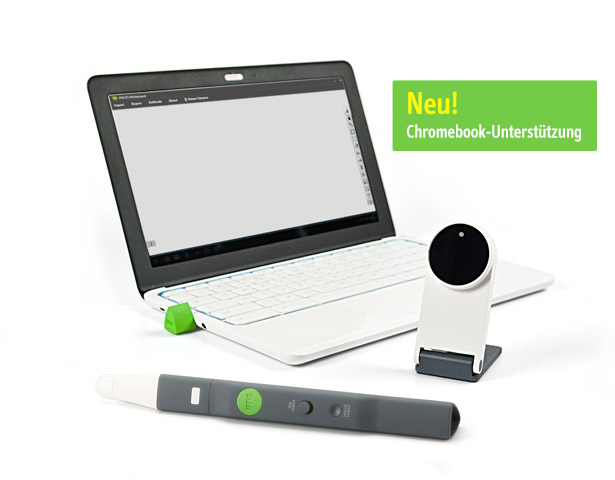 Kabelloses, interaktives Whiteboard-System IW2