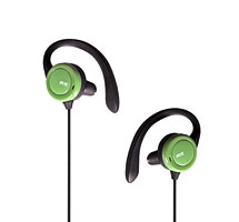 Open Stereo Earphones with in-line mic