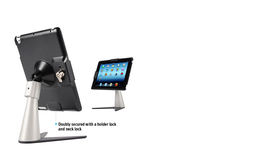 Perch Desktop Security Stand For Ipad 4 Ipad 3 And Ipad 2
