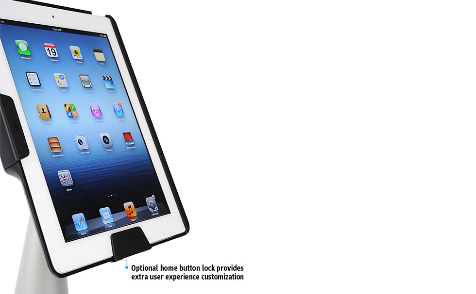 Perch Desktop Stand Security Set for iPad - S Type