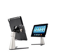 Perch Desktop Security Stand for iPad 4, iPad 3 and iPad 2 - S Type (Black)