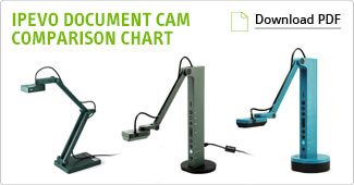 IPEVO Document Cam Comparison Chart