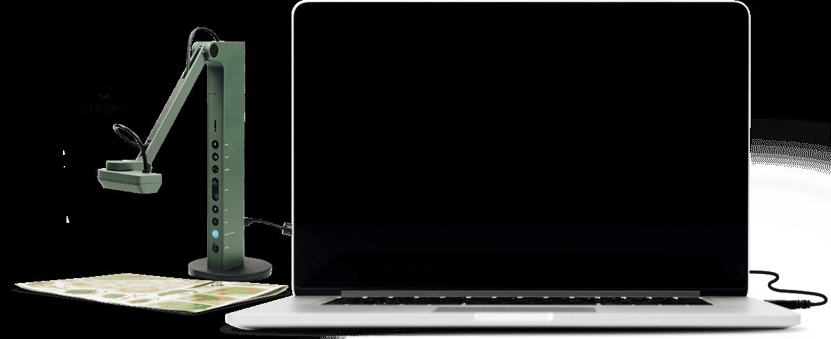 Im USB-Modus kompatibel mit verschiedener Software. Eine Dokumentenkamera, viele Anwendungen.