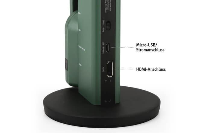 VZ-R HDMI/USB Dual Mode 8MP Dokumentenkamera