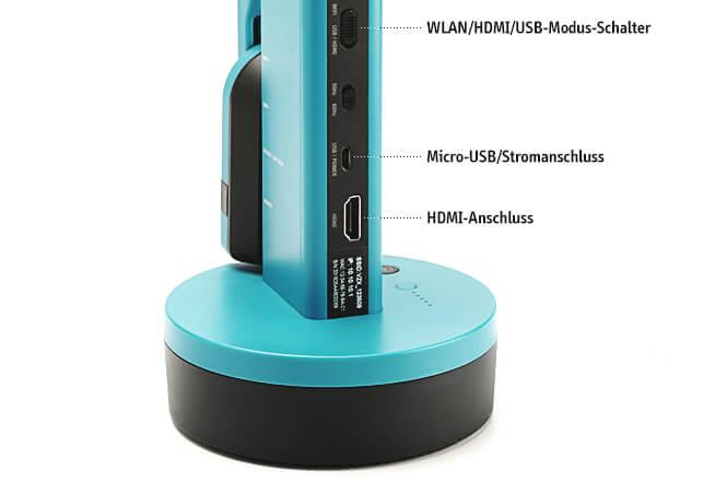 VZ-X Schnurlos, HDMI & USB 8MP Dokumentenkamera