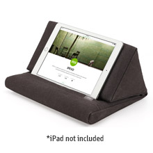 IPEVO PadPillow - Pillow Stand for iPads/Tablets/E-book readers (Charcoal Gray)
