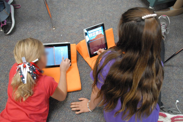 Make it possible for students to use the iPads safely