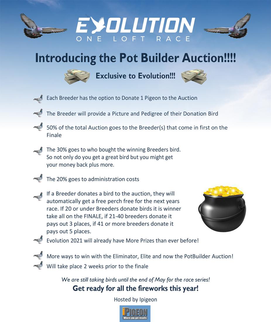 Evolution OLR Pot builder Flyer New concept!