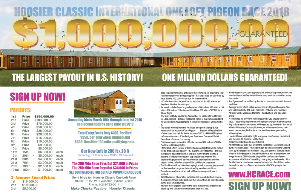 HOOSIER CLASSIC MILLION DOLLAR RACE AUCTION