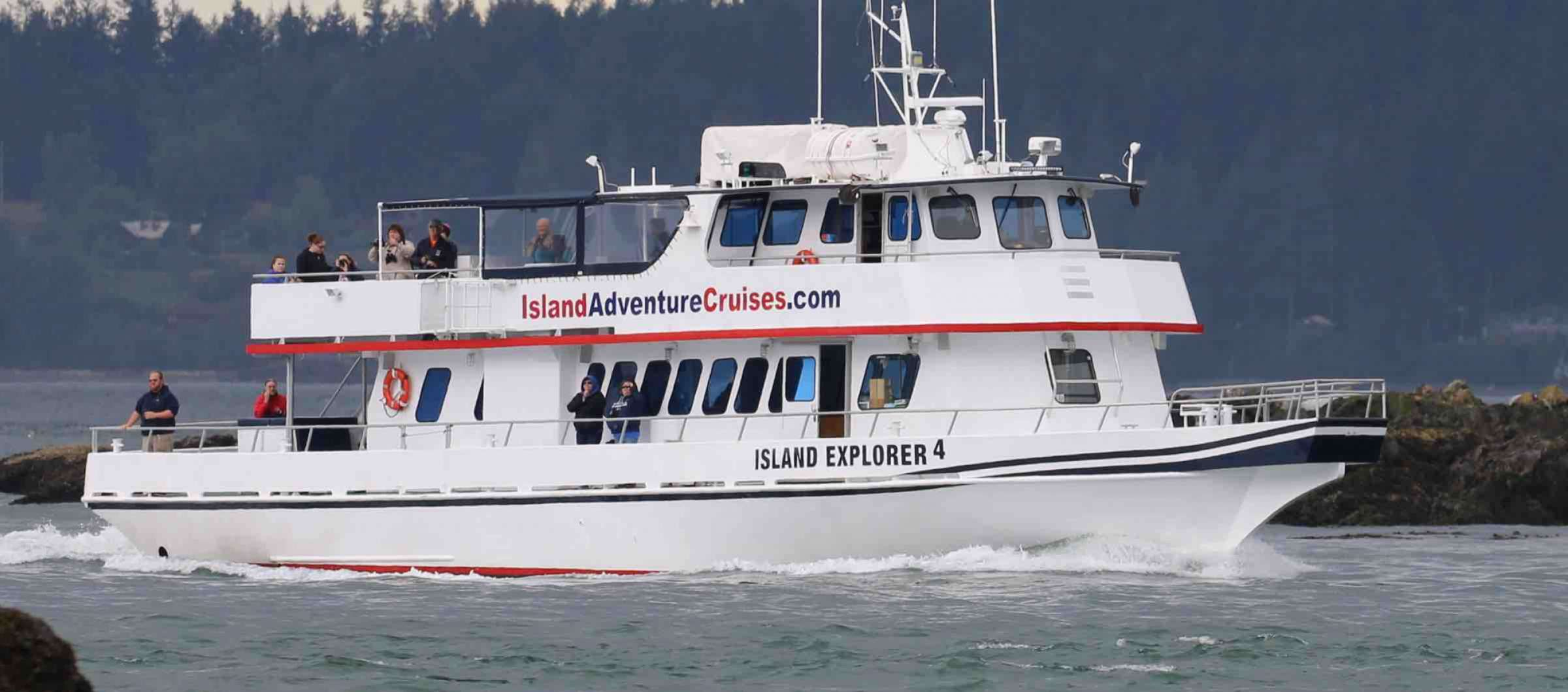 Seattle Whale Watching Island Explorer 4