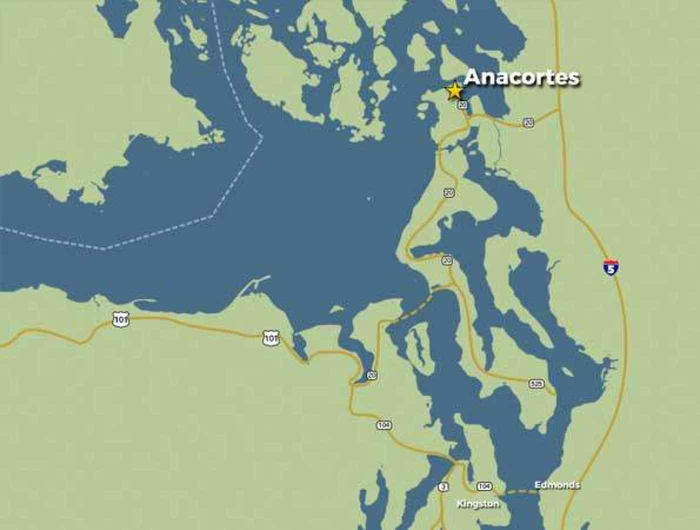 Anacortes Map