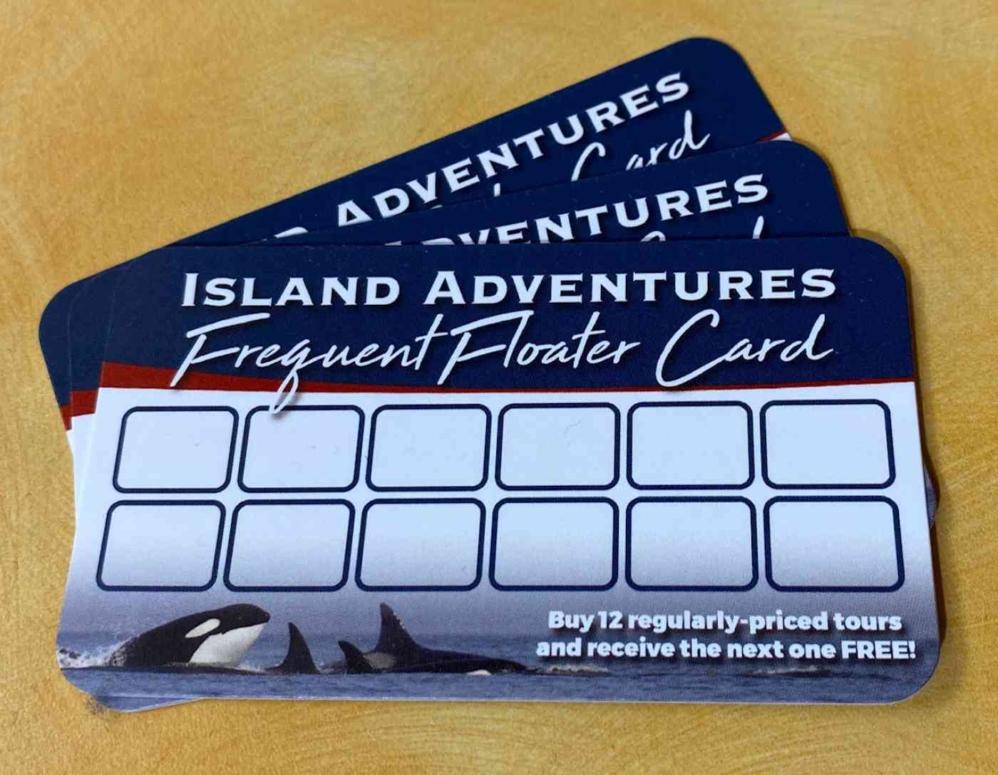 Frequent Floater Card