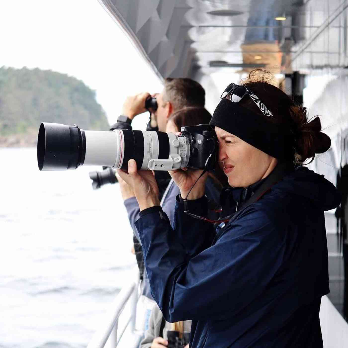 Naturalist with Camera