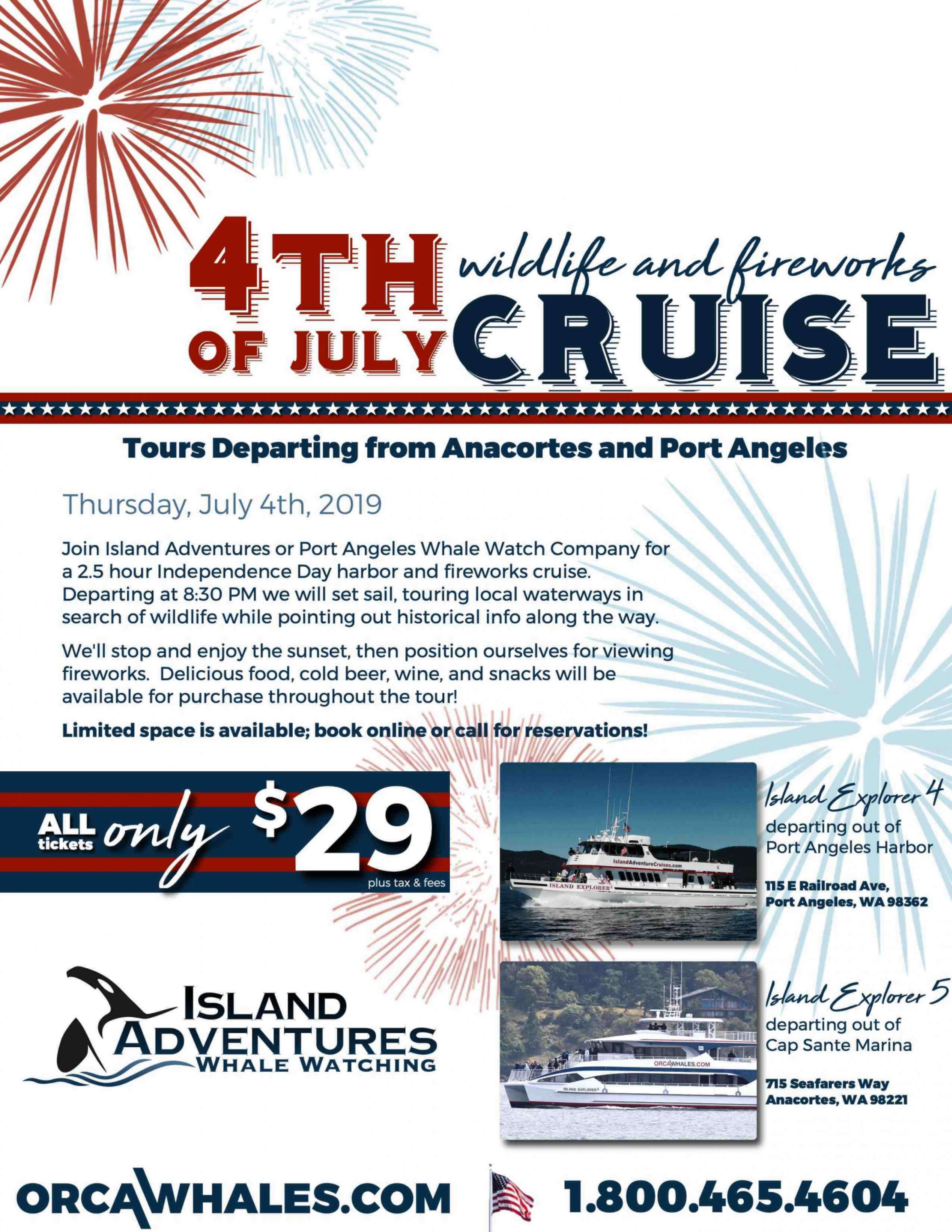 4Th Harbor Cruise Flyer 2019 Web