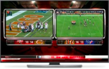 TV with Game Images