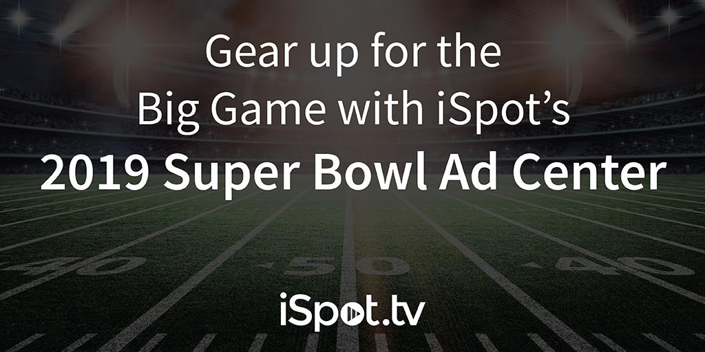 2019 Super Bowl Ad Center