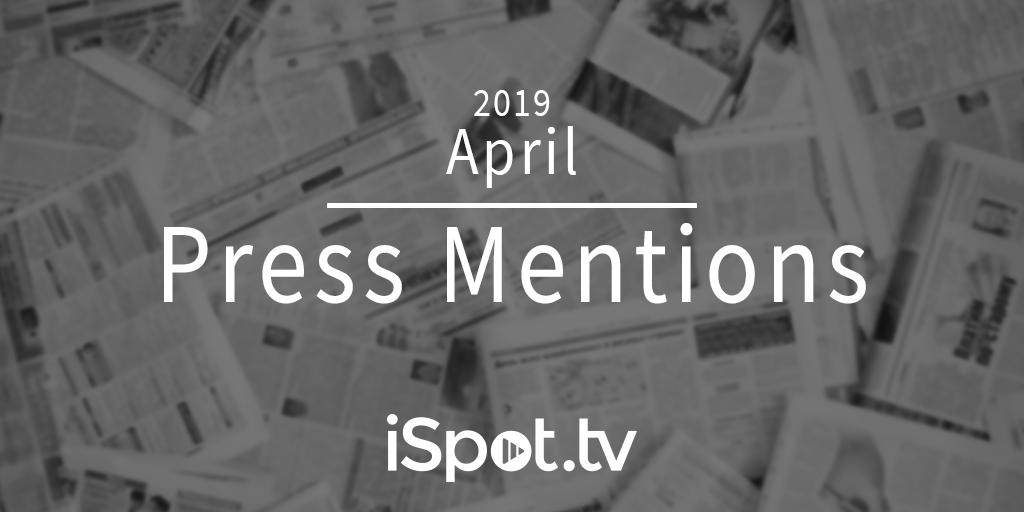 April 2019 Press Mentions
