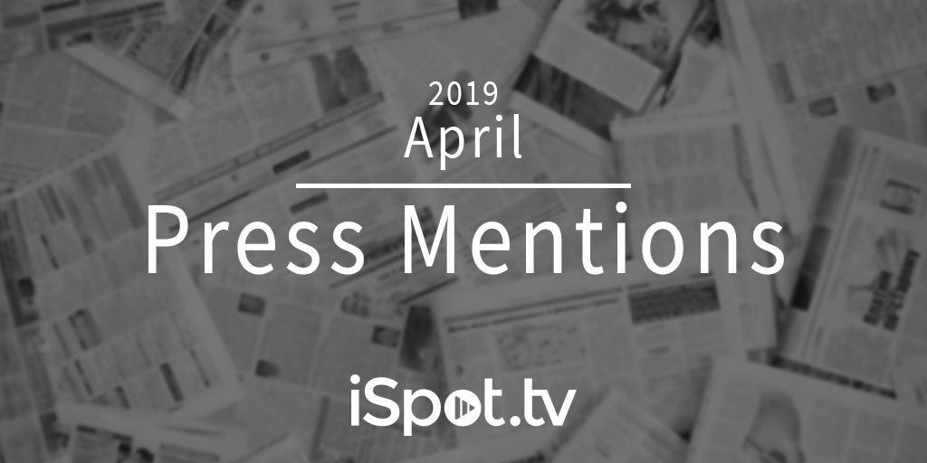 April 2019 Press Mentions