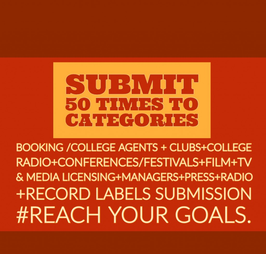 Submit Music to 50 Categories