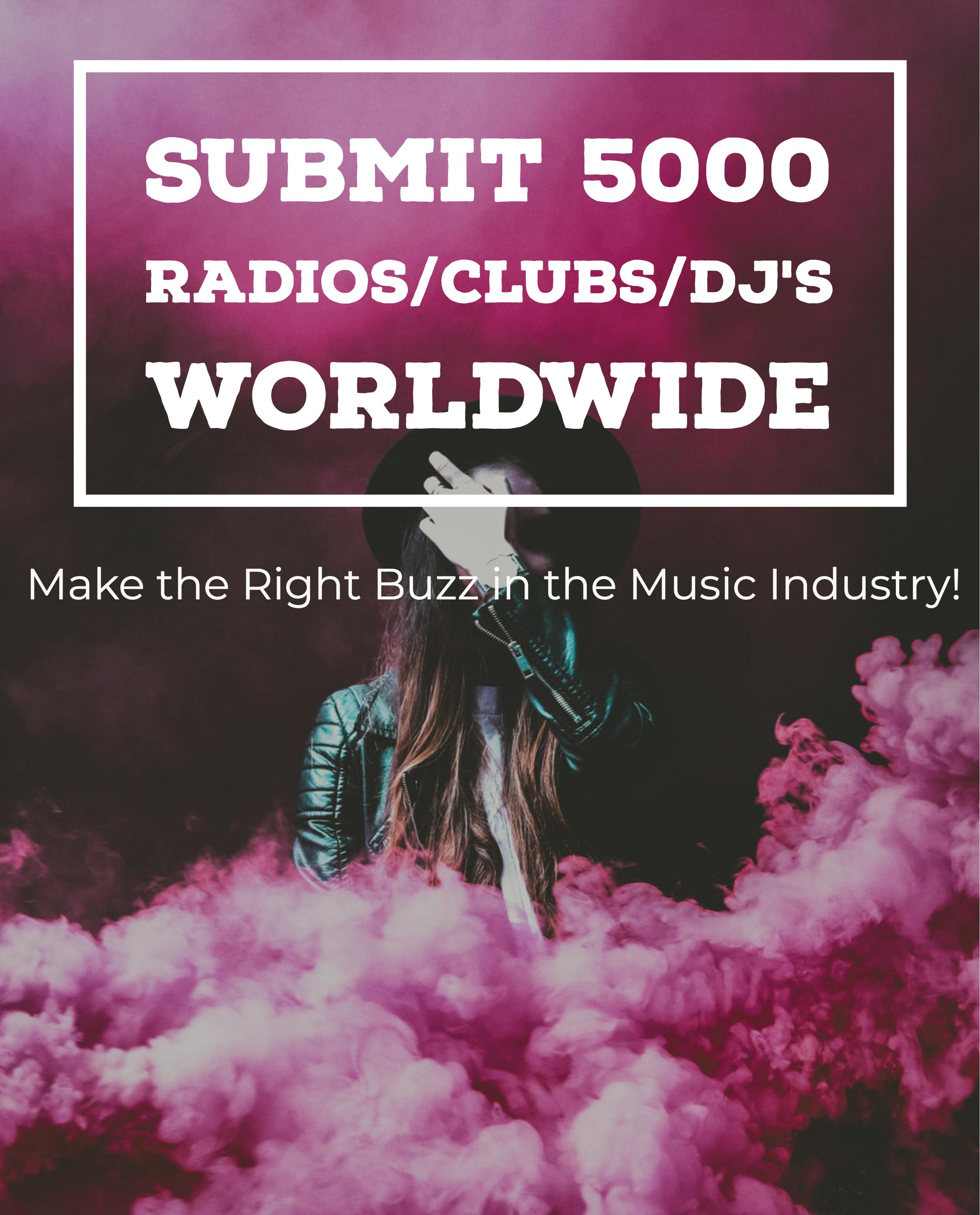 Submit to 5000 DJ World Wide