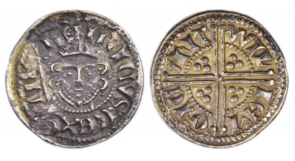 Henry III Unique two pence silver coin struck c 1247