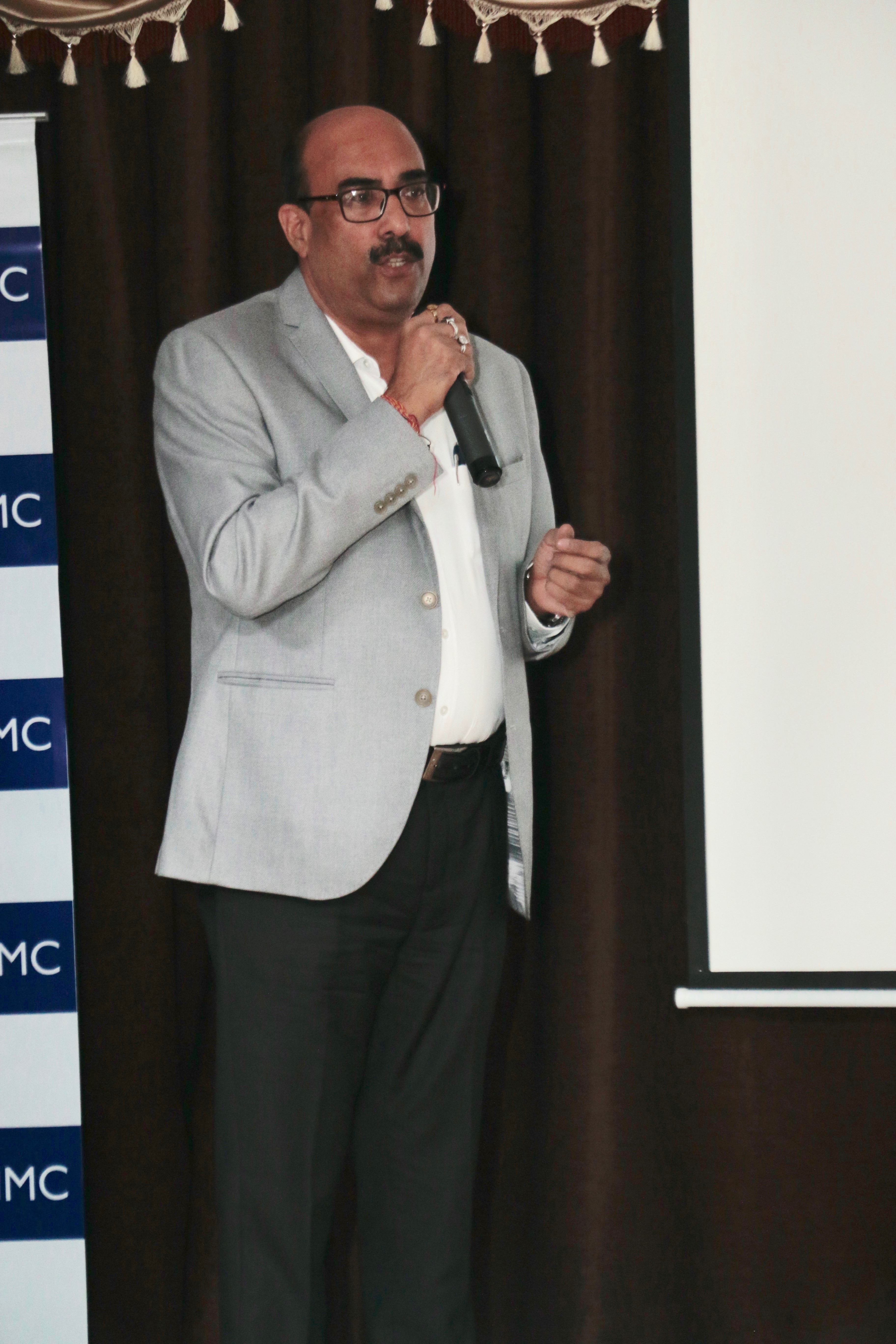 Mr Sanjay Shrivastava CEO Munzer Bharat Pvt Ltd