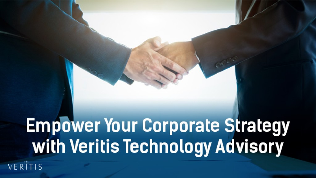 Empower Your Corporate Strategy with Veritis Technology Advisory Services