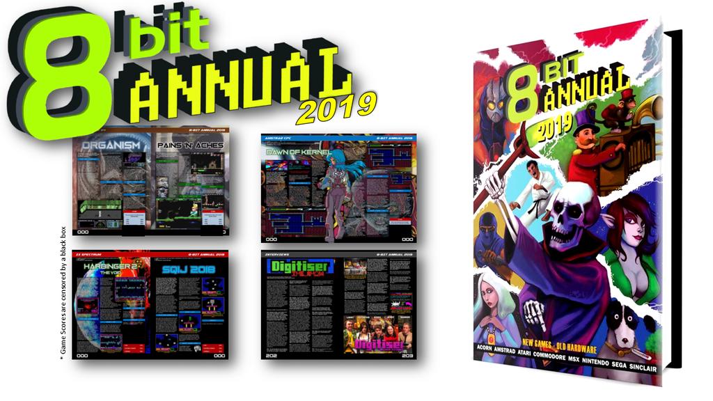 8Bit Annual 2019 Magazine
