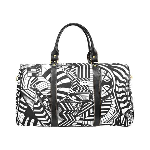 Nocturnal Abstract Travel Bag