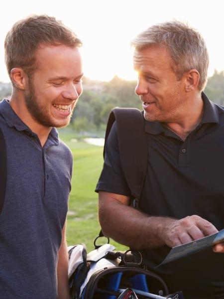 Nomadic golfers are happier