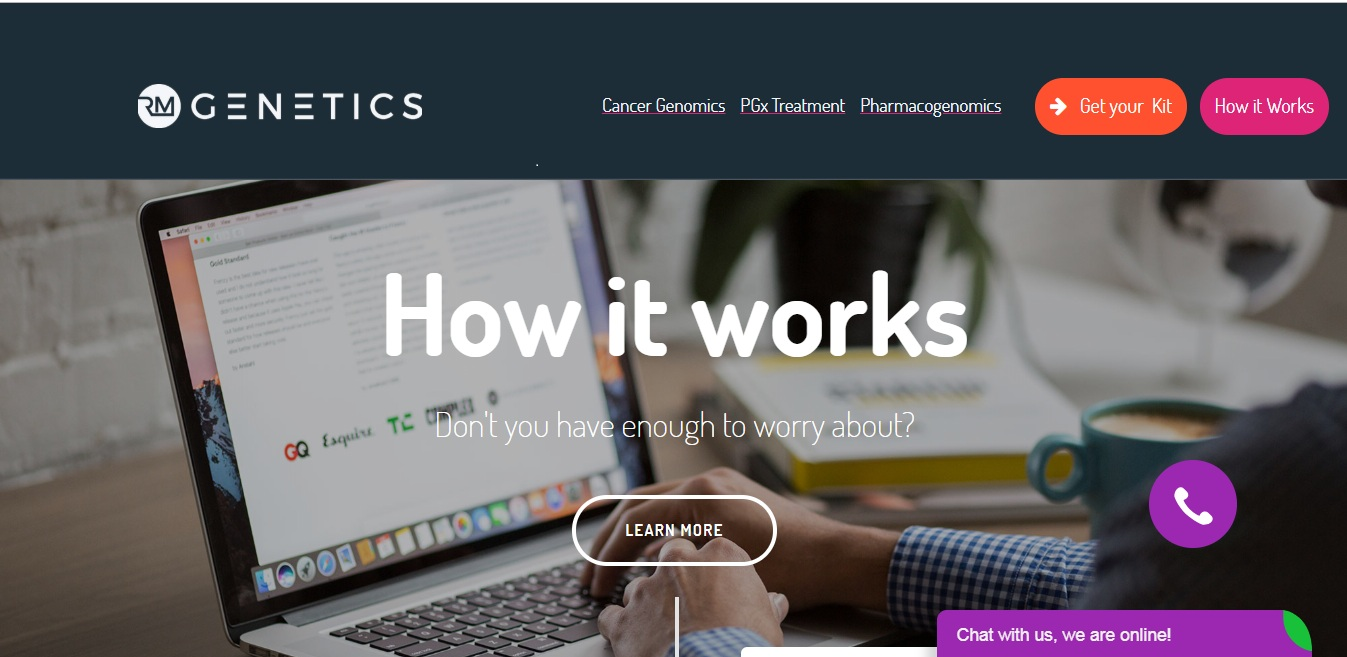 DNA Test Kits, Cancer Test kits- RM Genetics - IssueWire