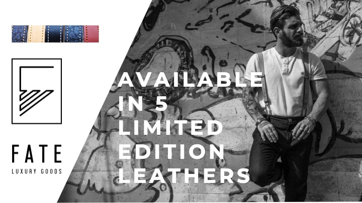 5 Limited Edition Leathers available for luxury men