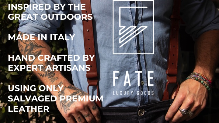 Fate Luxury Goods announces 2 live booth locations to view Kickstarter collection