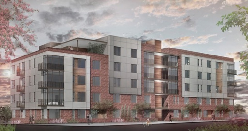 A Rendering of an approved 93unit condominium building The Turnhill