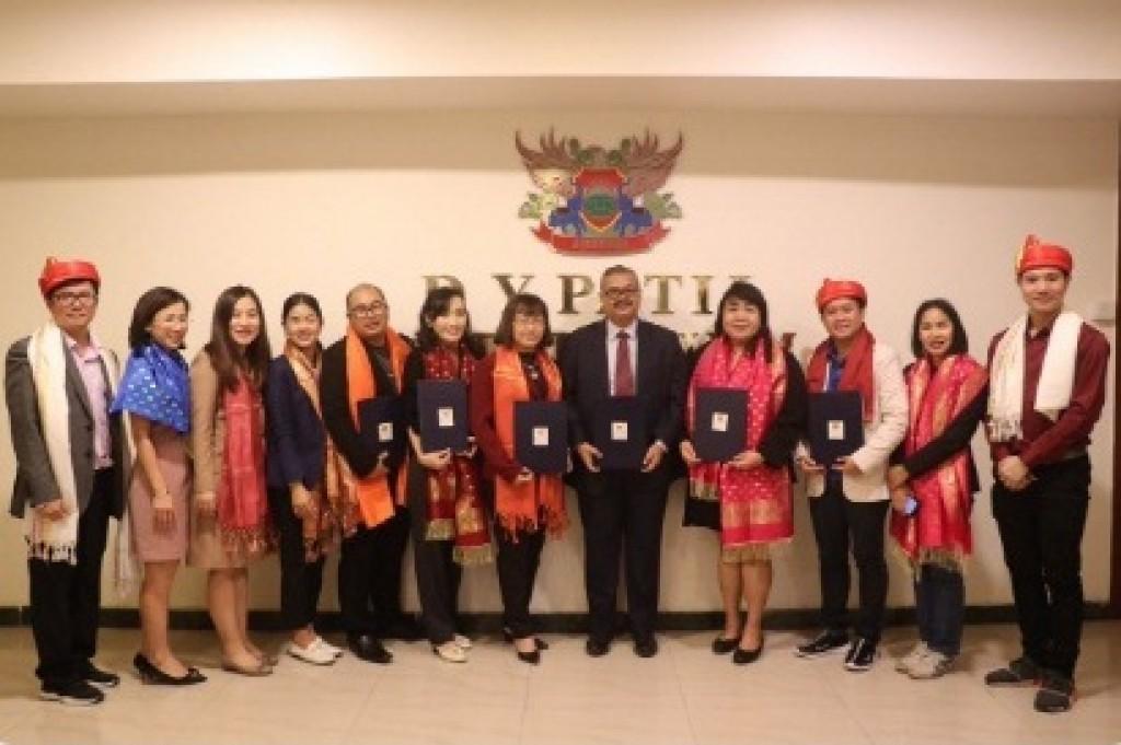 Thai Delegates at Ajeenkya DYPatil University