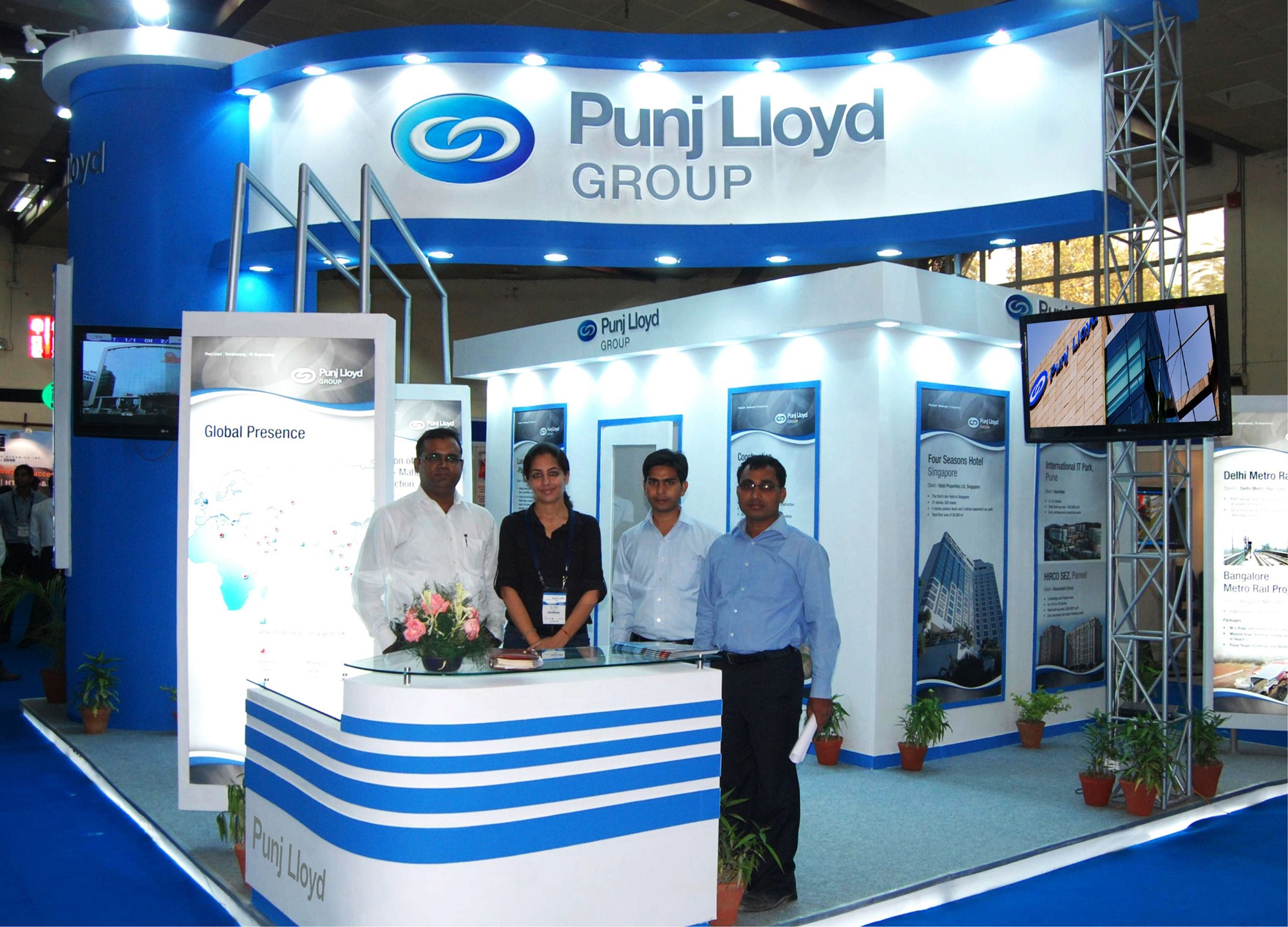Exhibition Booth Design Singapore : Panache has set a benchmark in the exhibition design industry
