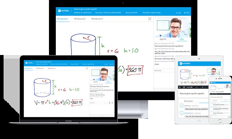 ezTalks Webinar Service Keeps Updating to Optimize User Experience