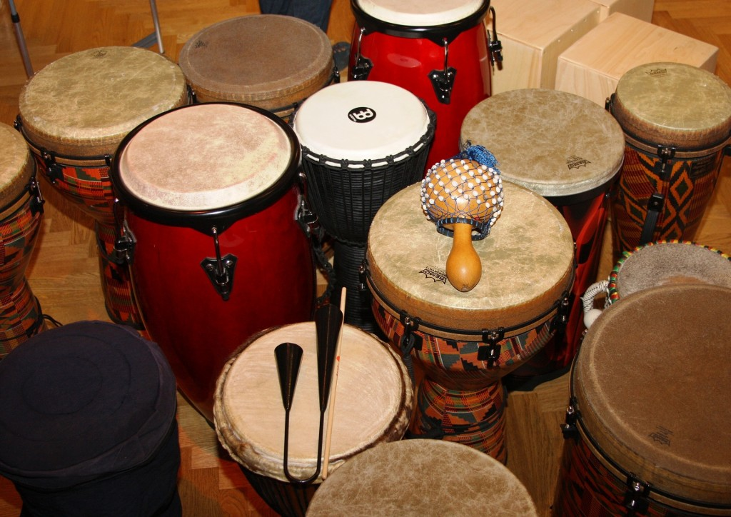 Drums and percussion workshop in London